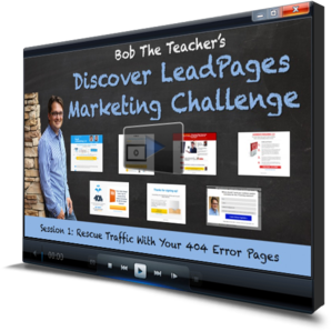 Session 1 - 404 Error LeadPages
